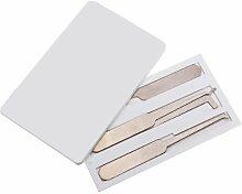 Kreditkarten Dietriche Set Bauschlosser Werkzeuge verriegeln Wählen Mini Tools