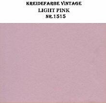 Kreidefarbe Light Pink Alt Rosa BORMA Schrank Möbel Farbe 750ml (26,53€/ltr)