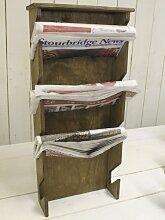 Kreidetafeln UK Zeitungsständer, Holz, Holz,