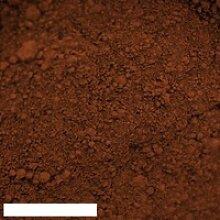 Kreidezeit Pigment Ocker rot - 1 kg Becher
