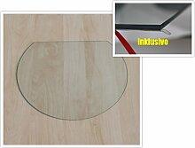 Kreisabschnitt 120x105cm - Funkenschutzplatte