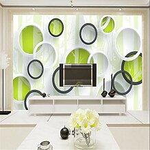 Kreise grün Schlafzimmer Wohnzimmer Tv