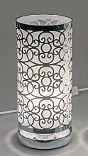 Kreise Lampe, Leuchte ORNAMENT rund H. 29cm D.