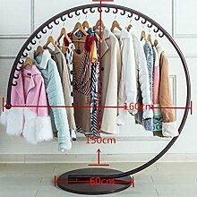 Kreisförmiger stehender Garderobenständer