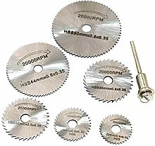 Kreissägeblatt 6 Stück HSS Metall