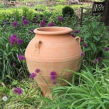 Kreta-Keramik | große Pflanzamphore mit Henkel |
