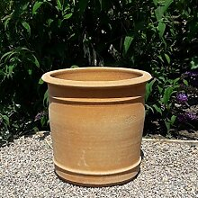 Kreta Keramik handgefertigter Terracotta Topf
