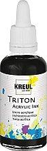 Kreul 17409 - Triton Acrylic Ink, Schwarz, 50 ml