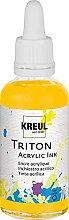 Kreul 17410 - Triton Acrylic Ink, Maisgelb, 50 ml