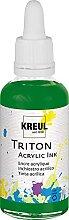 Kreul 17414 - Triton Acrylic Ink, Laubgrün, 50 ml