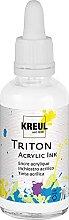 Kreul 17417 - Triton Acrylic Ink, Weiß, 50 ml