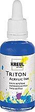 Kreul 17419 - Triton Acrylic Ink, Ultramarinblau,