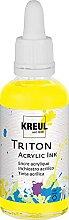 Kreul 17426 - Triton Acrylic Ink, Zitron, 50 ml