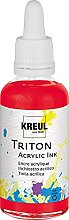 Kreul 17427 - Triton Acrylic Ink, Kirschrot, 50 ml