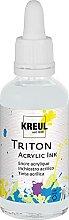 Kreul 17429 - Triton Acrylic Ink, Silber, 50 ml