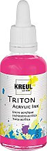 Kreul 17442 - Triton Acrylic Ink, Violettrot, 50