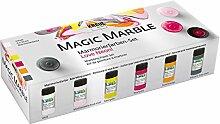 Kreul 73614 - Magic Marble Marmorierfarbe, Love