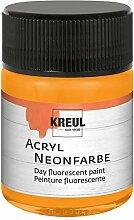 Kreul 77562 - Acryl Neonfarbe, 50 ml Glas in