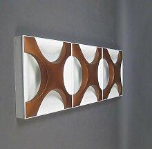 Kreuz-Auster Wandlampe von Rolf Krüger für