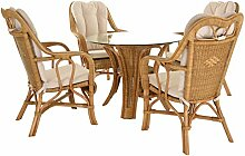 Krines Home Rattan Wintergartenset Harrison