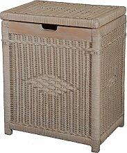 Krines Home Wäschekorb mit Holzrahmen aus