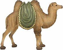 Krippenzubehör, Kamel mit Decke Höhe ca. 38cm
