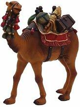 Krippenzubehör Kamel mit Gepäck Höhe 14,2cm