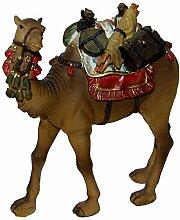 Krippenzubehör Kamel mit Gepäck und Sattel für