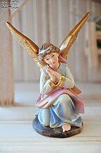 Krippenzubehör Krippendeko - Knieender Engel für