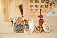 Krippenzubehör-Set für Weihnachtskrippen- &