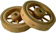 Krippenzubehör, Wagenrad, 2tlg. Durchmesser 4cm