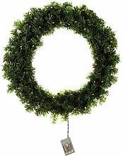 Krismase Weihnachtsgirlande, 160 Astspitzen,
