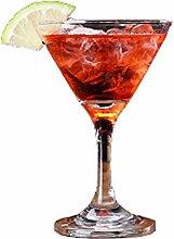 Kristall Cocktail Glas Martini Glas Dreieck