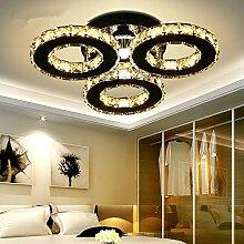 Kristall-Deckenleuchte mit LED-Lampen, Dimmbar 3