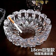 Kristall Glas Aschenbecher Aschenbecher im Büro, Dekoration,A18cm