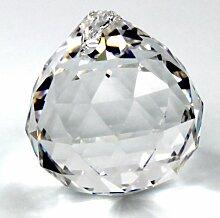Kristall Glas Kugel 40mm - 30% PbO Bleikristall