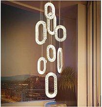 Kristall Hängeleuchten LED Pendelleuchten