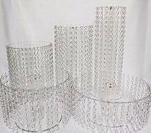 Kristall Hochzeit Tortenständer Design Etagere 5