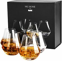 Kristall klar Whisky Tasting Nosing-Glas Tumbler