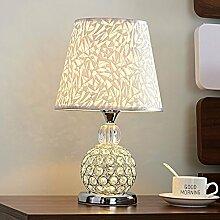 Kristall lampe Schlafzimmer Nachttischlampe, warm
