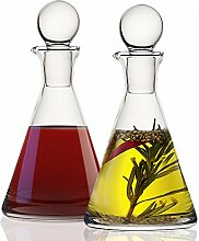 Kristall Öl & Essig Set–Paar Hohe Qualität