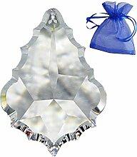 Kristall Pendel Barock L. 76mm im feinem