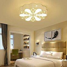 Kristall Schlafzimmer Lampe LED Deckenlampe Runde