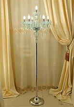 Kristall Stehleuchte, Kerze Stehleuchte Wohnzimmer