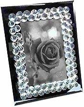 Kristall Strass Bilderrahmen aus Glas | Fotorahmen