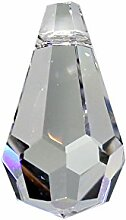 Kristall Tropfen 20 Stück L. 20mm Hoch Brillant