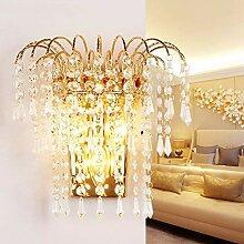 Kristall Wandbeleuchtung Schlafzimmer, E14 Modern