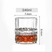 Kristall Whisky Glas Transparent Bier Cocktail