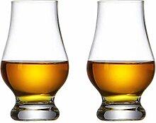 Kristall Whisky Glas Whisky Gläser 2er Set Becher