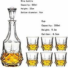 Kristallglas Weinset Home Creative Dekanter,